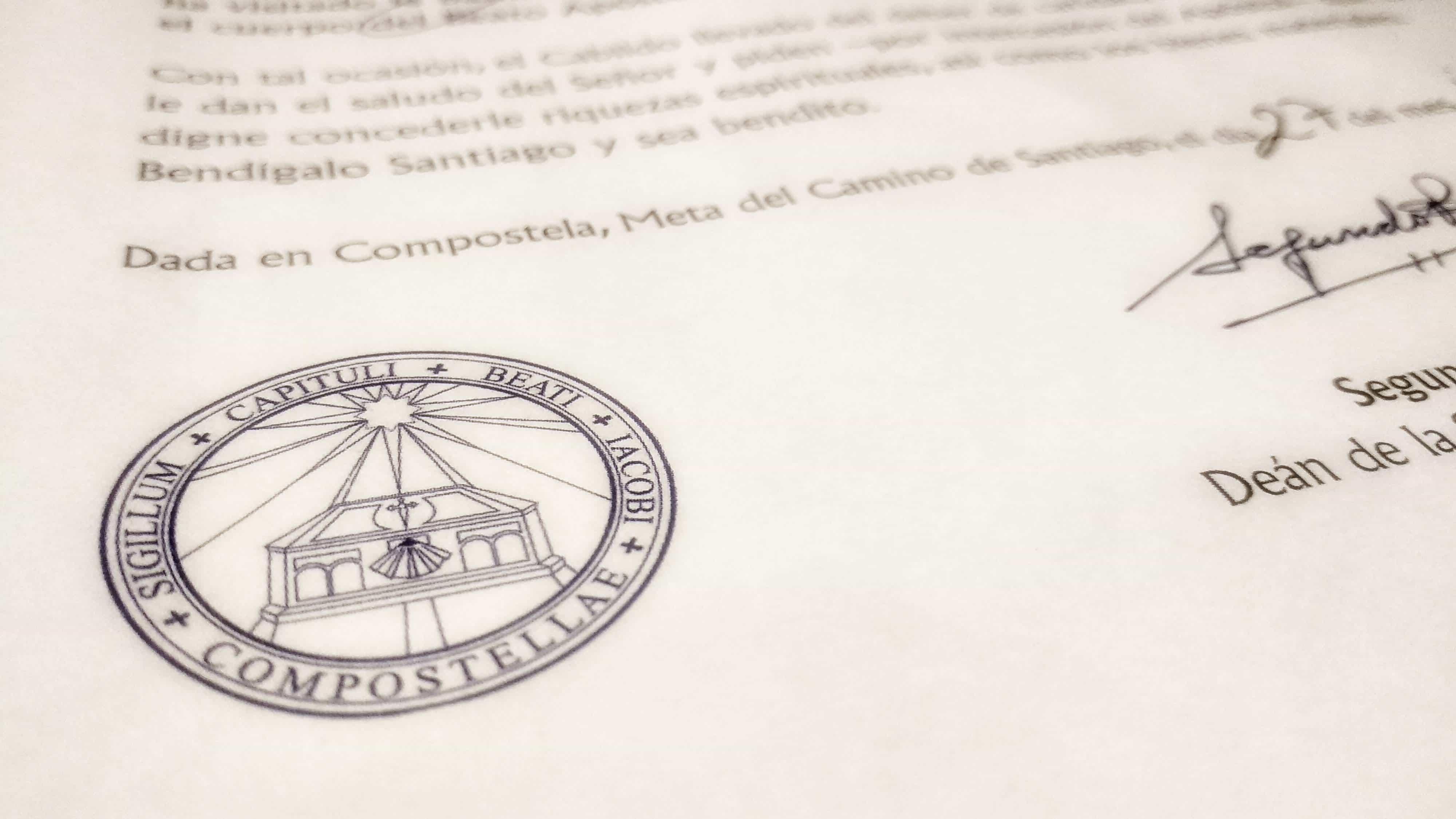 Compostela el Camino de Santiago