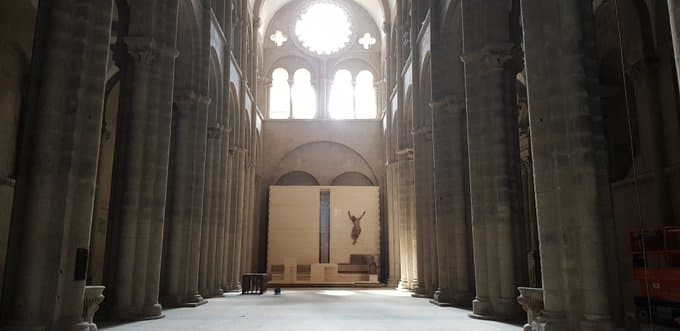 nave catedral de Santiago