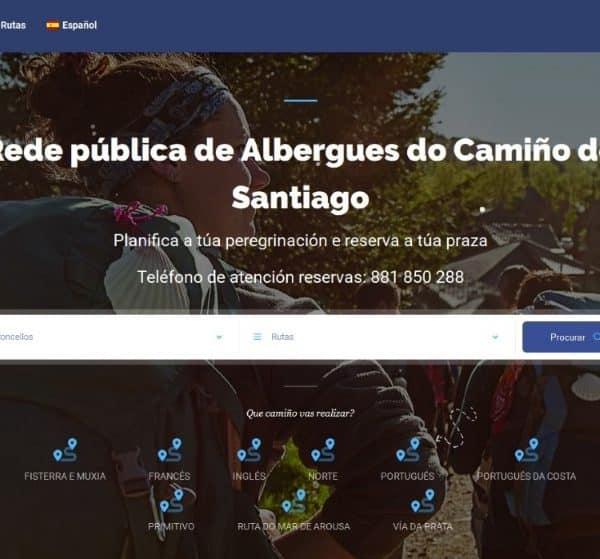 Web reserva albergues
