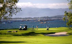 Golf y playa galicia
