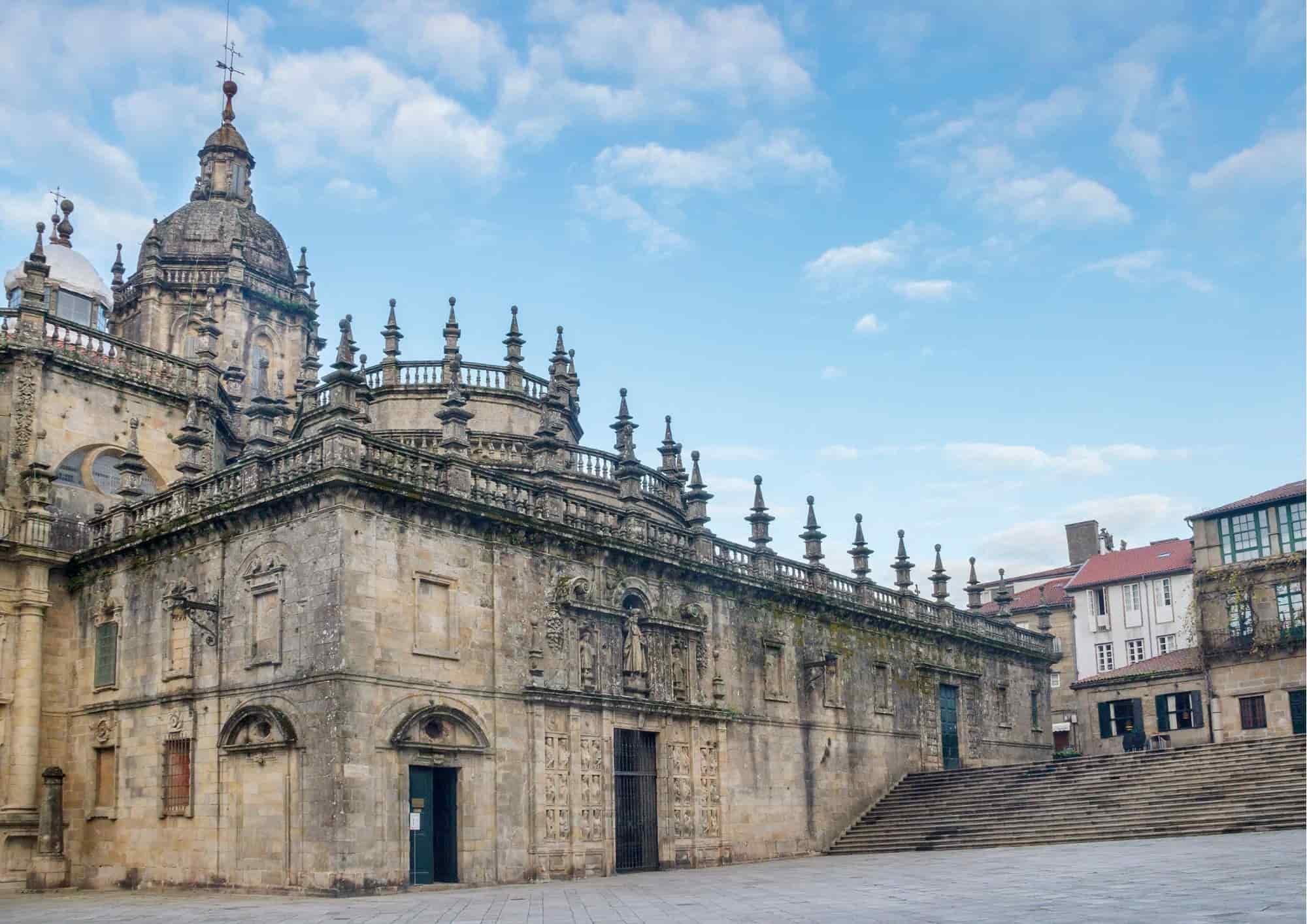 Puerta santa catedral de santiago